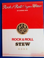 1972 Rock and Roll Organ Stew of Choice Hits Songbook Popular Rock Songs