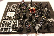 Games Workshop Warhammer 40k Space Marines & Chaos Bundle Spares Job Lot Figures