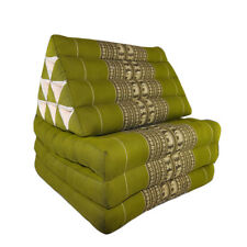 Thai Three Fold Triangular Cushion - Green (DM18)