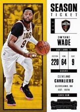Dwyane Wade 2017-18 PANINI CONTENDERS Basketball cartes à collectionner, #74