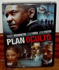 PLAN OCULTO DVD NUEVO PRECINTADO THRILLER SUSPENSE ACCION (SIN ABRIR) R2