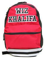 Bioworld Wiz Khalifa Collegiate Backpack-Red/Black/White