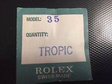 Genuine Rolex Plastic Crystal 25-35 Factory Sealed