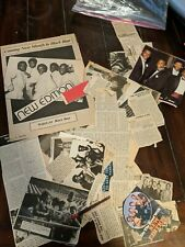 Vintage Large Lot of Newspaper and Magazine Clippings - New Edition Bobby Brown