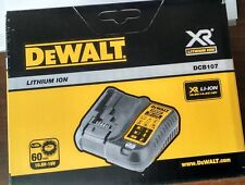 New DEWALT DCB107-QW 10.8V/14.4V/18V/20V Max XR Lithium-ion Battery Charger