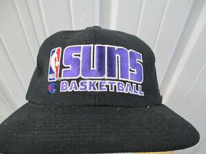 VINTAGE CHAMPION PHOENIX SUNS BASKETBALL SEWN SNAPBACK CAT HAT NEW W/ TAGS 90s