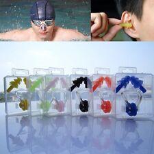 Nasenklammer Nasen Klammer Nasenclip Wasserschutz Schwimmen Ohrstöpsel Silikon