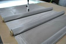 """100 Mesh 150 Micron 304 Stainless Steel  Woven Wire filtration Screen 12""""x36"""""""