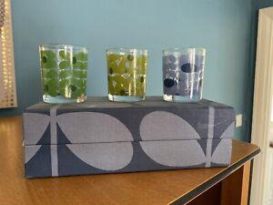 orla kiely glass Candle jars