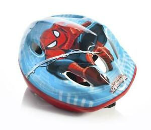 Spiderman Kids Blue Red Bike Cycling Safety Helmet 52-56cm 3 Years+ CASCOSP3