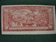 1955 South Vietnam 5 Dong Propaganda Leaflet Note Uncirculated Rare Note