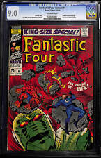 Fantastic Four Annual #6 CGC 9.0 Off-White Pages - First Franklin Richards