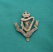 WW1,The Connaught Rangers - 100% Genuine British Military Army Cap Badge