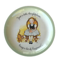 """70s Vtg Holly Hobbie Plate """"Just A Little Thoughtfulness..."""" Collector Edition"""