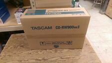 Tascam CD-RW900MKII Brand New Professional CD Recorder/Player