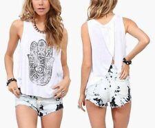 New Fashion Women Summer Vest Top Sleeveless Blouse Casual Tank Tops T-Shirt