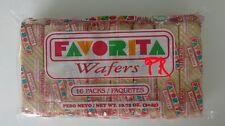 1 Pack 16 Favorita Wafers Galleta Favorita de Puerto Rico