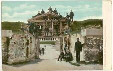 c1910 Portsmouth New Hampshire Fort Constitution Gate soldiers