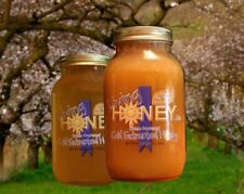 Living Honey - 100% Cold Extracted Raw Honey 1/2 Gallon (2 - 1 Quart Jars)