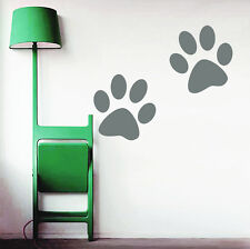 Wall Decals Paw Dog Decal Pet Shop Grooming Salon Decor Vinyl Sticker Art DA2159