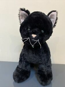 Build A Bear Promise Pets Solid Black Cat Kitten Rare BAB