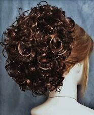 PHOEBE Clip On HairPiece by Mona Lisa - 6-30 Dark Chestnut Brown-Auburn