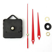 Useful Red Hands Silent DIY Wall Quartz Clock Movement Mechanism Repair Tool Kit