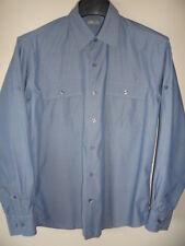 "TYLER Size Medium 15.5"" Roll Sleeve Men's Shirt 100% Cotton Fits 40""-43"" Chest"