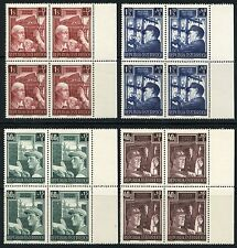 AUSTRIA   SCOTT#B273/76 BLOCK SET  MINT NEVER  HINGED FULL ORIGINAL GUM
