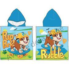 Poncho de bain Pat'Patrouille : Ruben, cape de bain Paw Patrol neuf