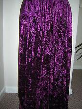 dark plum aubergine velvet skirt 10 12 14 16 18 20 22 24 26 28 30 32 34 36 38