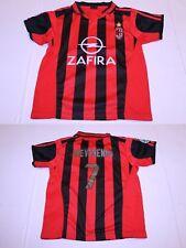Youth A.C. Milan Andriy Shevchenko YS Soccer Futbol Jersey Zhong Jian