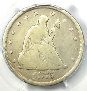 1875-CC Twenty Cent Piece 20C - PCGS VG Detail - Rare Carson City Coin!
