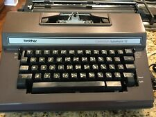 Brother Correction Automatic 12 Electric Typewriter W/ Case ~ Model 3800