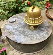 Vintage Chicken Coop Tin Heater Kerosene Oil Heater With Pampa Coronet Burner