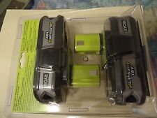 18-Volt RYOBI ONE+ Compact LITHIUM Battery 2-Pack (Model#  P109)