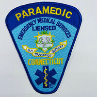 Connecticut Paramedic EMS Emergency Medical Services Licensed CT Patch (A7)