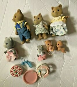 Calico Critters Sylvanian Families Lot of Animals