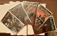 THE WITCHER 1 - 5 (2 3 4) COMPLETE SET! DARK HORSE! SEE PICS AND SCANS! WOW RARE