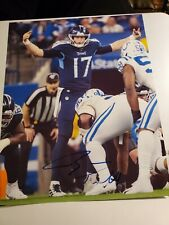 Ryan Tannehill signed 8x10 photo Tennessee Titans Texas A&M autographed Dolphins
