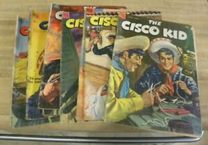 DELL The Cisco Kid Lot 2 9 10 11 12 14 16 18