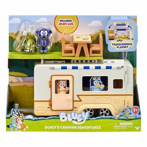Bluey's Caravan Adventures Kids Can Go On A Caravan Adventure With Bluey's T