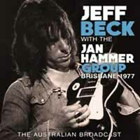 BRISBANE 1977  by JEFF BECK  Compact Disc  SON0374 rare live show
