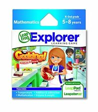 LeapFrog Cooking Recipes On The Road Learning Game works with LeapPad GS