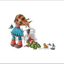 Little Darlings saturada Canarias LDRS desfile de sello de goma