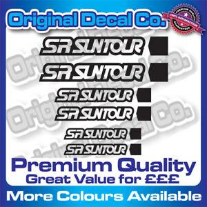 Premium Quality SR Suntour Suspension Fork Stickers Replacement Decals mtb bike