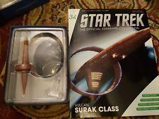 Star Trek Eaglemoss Issue 34 Vulcan Surak model with Magazine