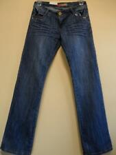 NWT Dt Green Skinny Blue Denim Jeans Low Rise Jeans Straight 30/33