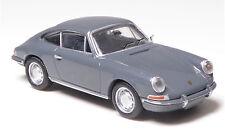 H0 BREKINA Personenkraftwagen Porsche 911 eisengrau Edelfelgen NEU ! # 16232