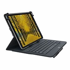 "Logitech Universal Folio Keyboard/Cover Case [Folio] for 10.5"" Tablet, iPad Air,"